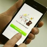 Line Messenger in Thailand, Japan, Indonesia and Taiwan