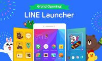 """Make your Phone your Own! Home Screen Customization App """"LINE Launcher"""" Released!"""