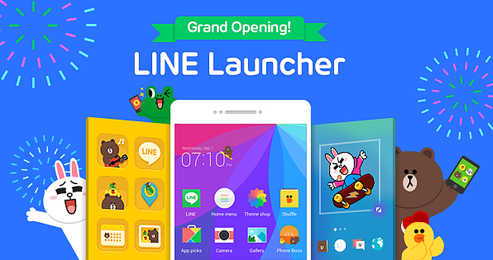 "Make your Phone your Own! Home Screen Customization App ""LINE Launcher"" Released!"